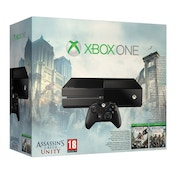 Xbox One Console with Assassin's Creed Unity & Assassin's Creed 4 Black Flag