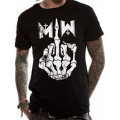 Motionless In White - Middle Finger Men's Medium T-Shirt - Black