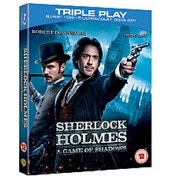 Sherlock Holmes A Game of Shadows Triple Play Blu-ray + DVD + UV Copy