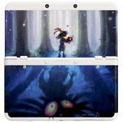 (Damaged Packaging) New Nintendo 3DS Cover Plates No 024 Zelda Majoras Mask Faceplate
