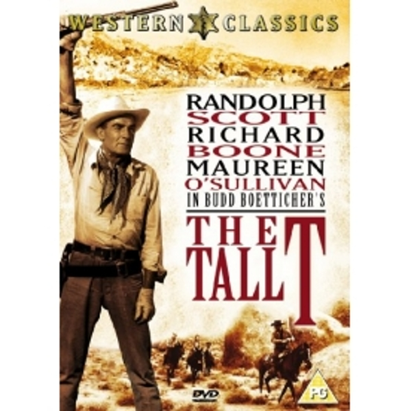 The Tall T DVD