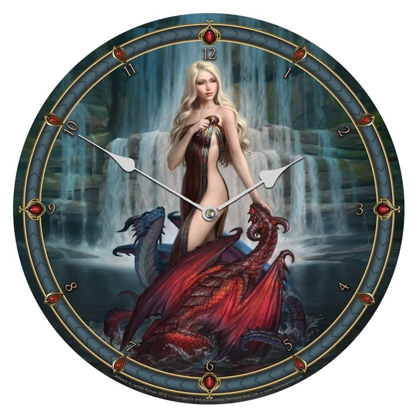 Dragon Bathers Clock