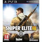 Sniper Elite III 3 with Hunt the Grey Wolf DLC PS3 Game