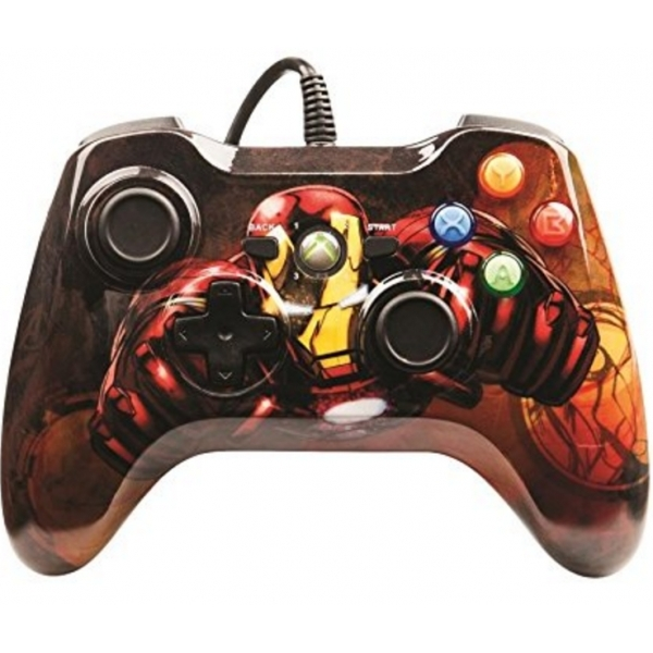 Marvel Avengers: Iron Man Official Xbox 360 Controller