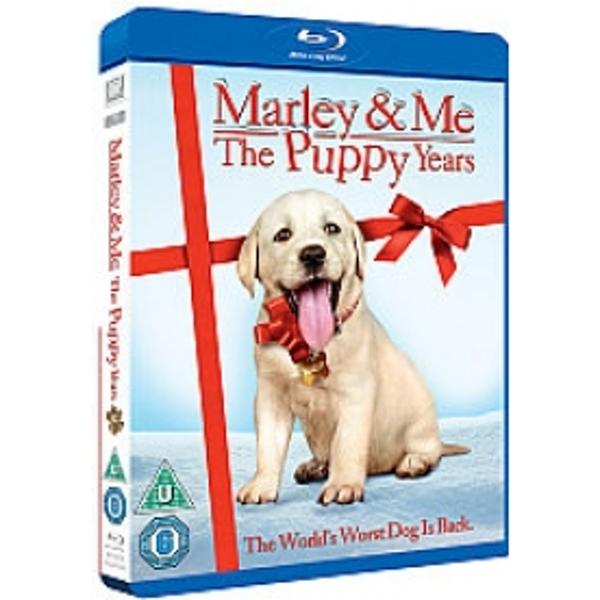Marley and Me 2: The Puppy Years Blu-Ray