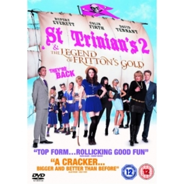 St Trinians 2 The Legend Of Fritton's Gold DVD