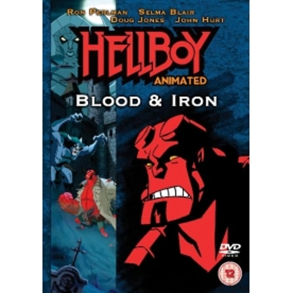 Hellboy Animated Blood And Iron DVD