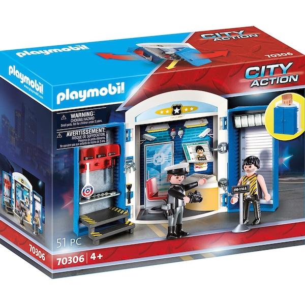 Playmobil Police Station Play Box Playset