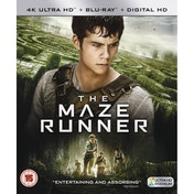 The Maze Runner 4K UHD Blu-ray