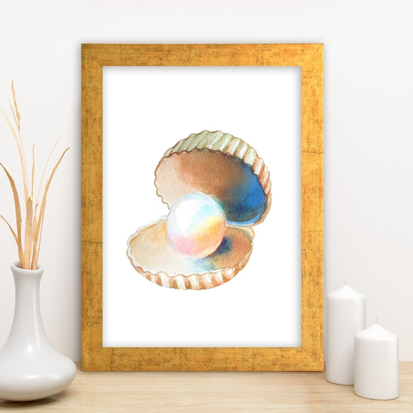 AC10212519554 Multicolor Decorative Framed MDF Painting