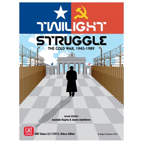 Twilight Struggle The Cold War 1945-1989 Deluxe Edition Board Game