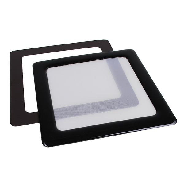 DEMCiflex Dust Filter 80mm Square - Black/White