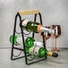 6 Bottle Wine Rack with Handle | M&W - Image 2