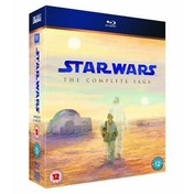 Star Wars The Complete Saga (Blu-ray)