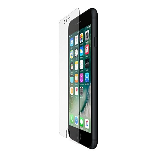 Belkin F8W769vf ScreenForce Transparent Tempered Glass Screen Protector for iPhone 8 Plus/7 Plus