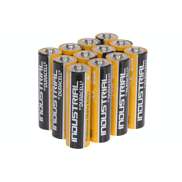 Duracell Industrial AA Alkaline Batteries Tub of 12