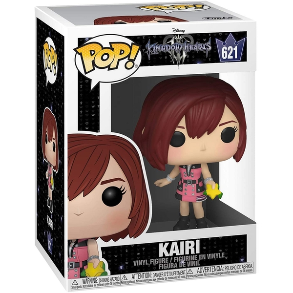 Kairi with Hood (Kingdom Hearts III S2) Funko Pop! Vinyl Figure #621