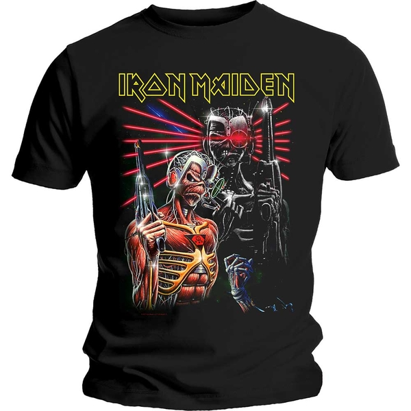 Iron Maiden - Terminate Unisex Medium T-Shirt - Black