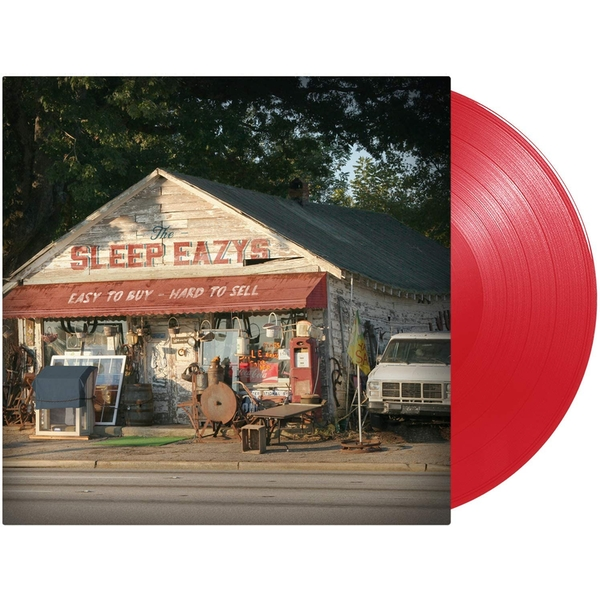 The Sleep Eazys - Easy To Buy Hard To Sell Red Vinyl