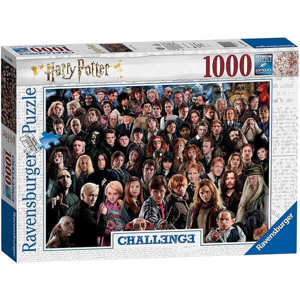 Image of Ravensburger Harry Potter Challenge Jigsaw Puzzle - 1000 Pieces