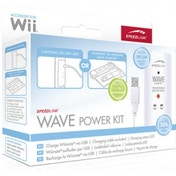 SPEEDLINK Wave Power Kit for Wii, White SL-3402-WT