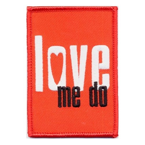 The Beatles - Love me do Standard Patch