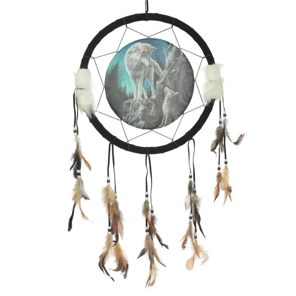 Wolf Design Dreamcatcher Medium