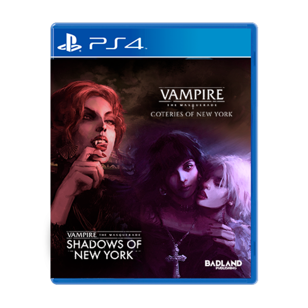 Vampire The Masquerade Coteries of New York + Shadows of New York PS4 Game