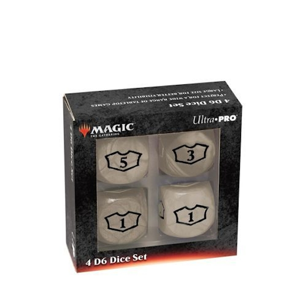 Ultra Pro Magic The Gathering: Deluxe 22mm Loyalty Dice White