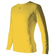 PT Base-Layer Long Sleeve Crew-Neck Shirt Small Boys Yellow