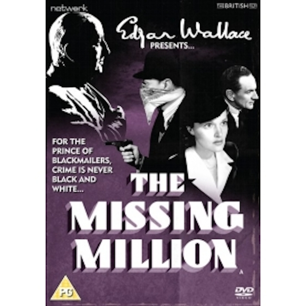 Edgar Wallace Presents: The Missing Million DVD