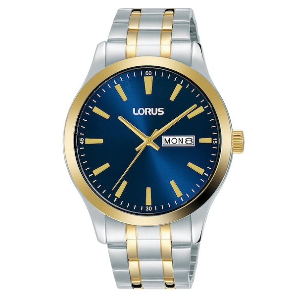 Lorus RH342AX9 Mens Two Tone Bracelet Dress Watch
