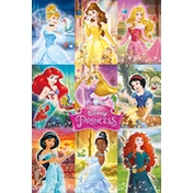 Disney Princess - Collage Maxi Poster