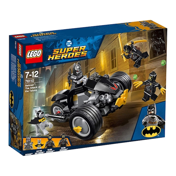 LEGO Super Heroes Attack - Batman and Talon Fighters (76110)