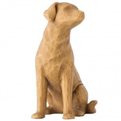 Love My Dog (Light) Willow Tree Figurine