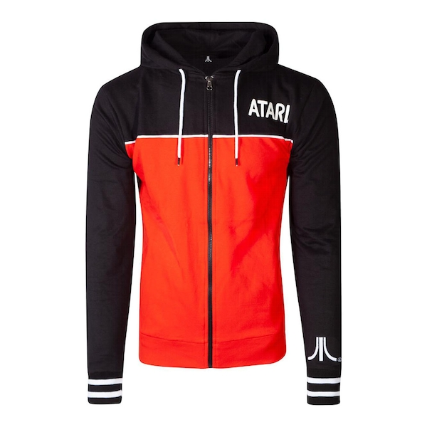 Atari - Colour Block Men's X-Large Hoodie - Multi-Colour