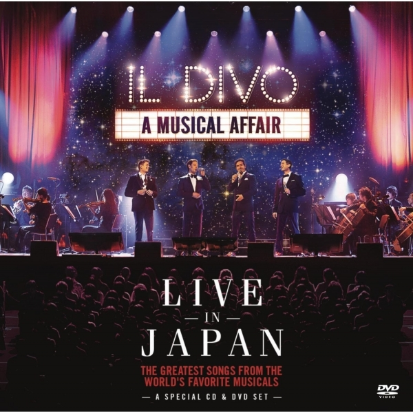 Il Divo - A Musical Affair: Live In Japan CD+DVD Live
