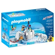 Playmobil Arctic Explorers with Polar Bears