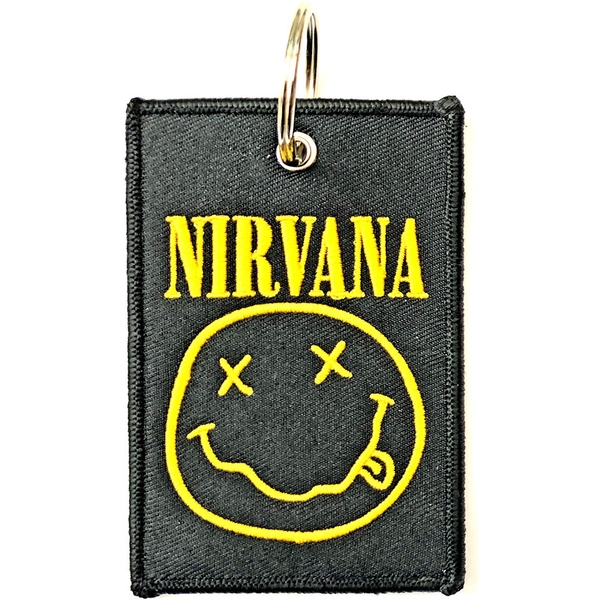 Nirvana - Smiley Keychain