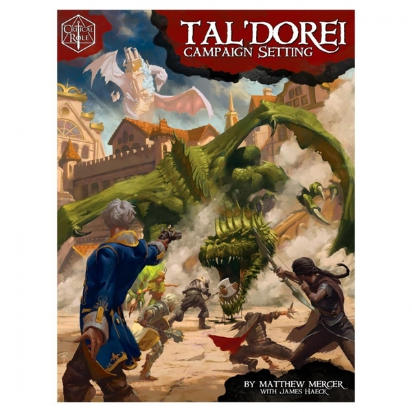 Tal'Dorei Campaign Setting Critical Role RPG Board Game