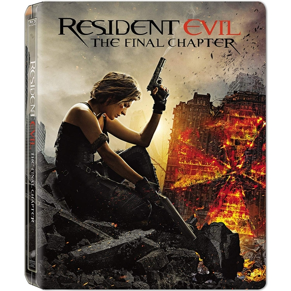 Resident Evil The Final Chapter Steelbook Blu-ray