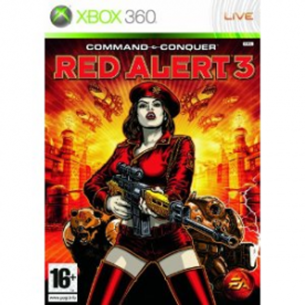 Command & Conquer 3 Red Alert Game Xbox 360