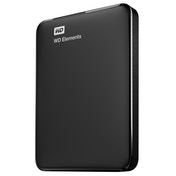 Western Digital WD Elements Portable external hard drive 750 GB Black