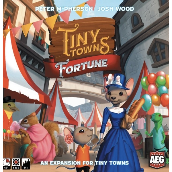 Tiny Towns: Fortune Board Game Expansion