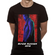 Blade Runner 2049 - Agent K Neon Men's Large T-Shirt - Black