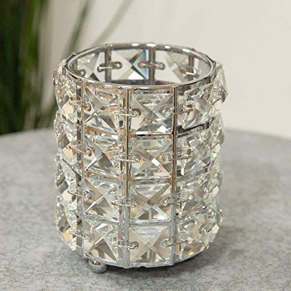 HESTIA? Diamante Crystal Candle Holder - Small