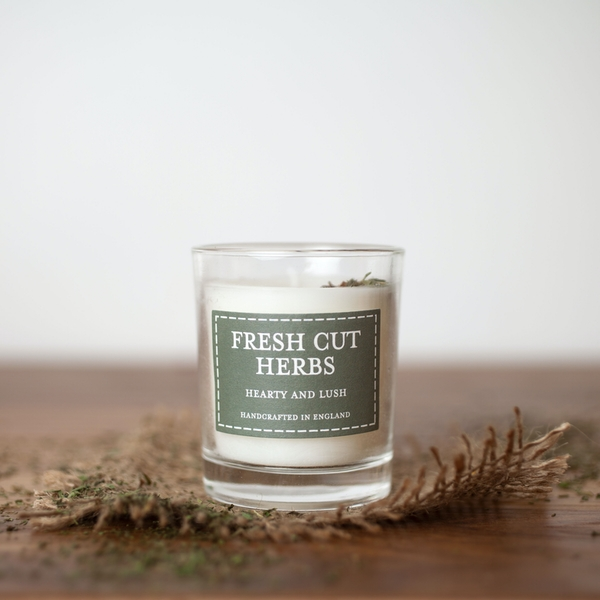 Fresh Cut Herbs (Pastel Collection) Votive Candle - Image 1