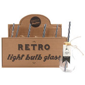 Box of 8 Light Bulb Glasses