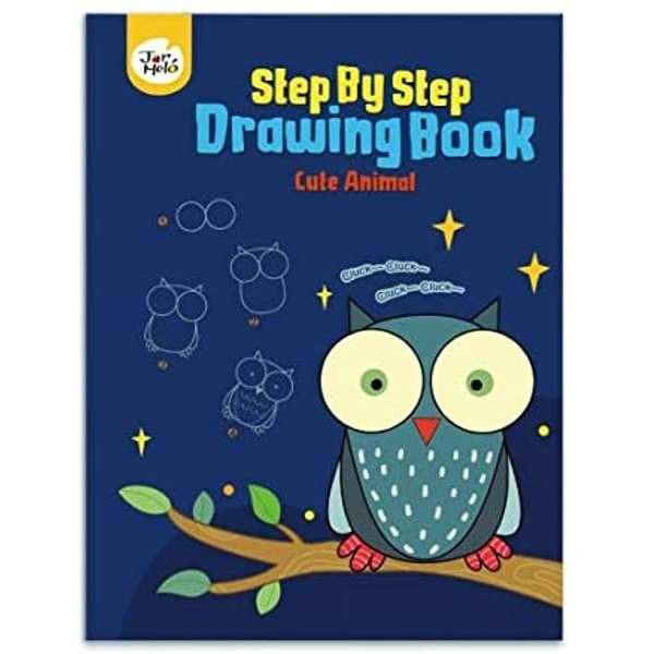 Cute Animals Step By Step Drawing Book