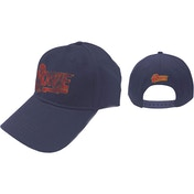 David Bowie - Flash Logo Men's Baseball Cap - Navy Blue
